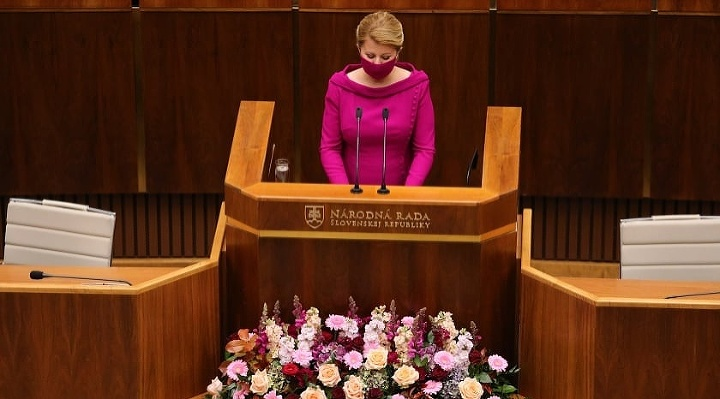 Čaputová v parlamente predniesla