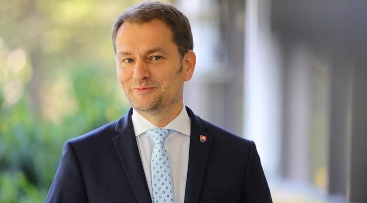 Premiér Igor Matovič na