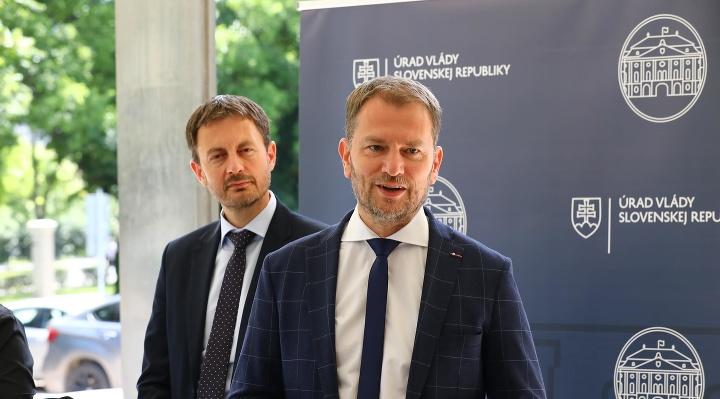 Premiér a minister financií