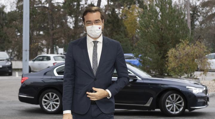Minister zdravotníctva Krajčí informuje