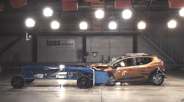 Dacia Sandero Crash Test