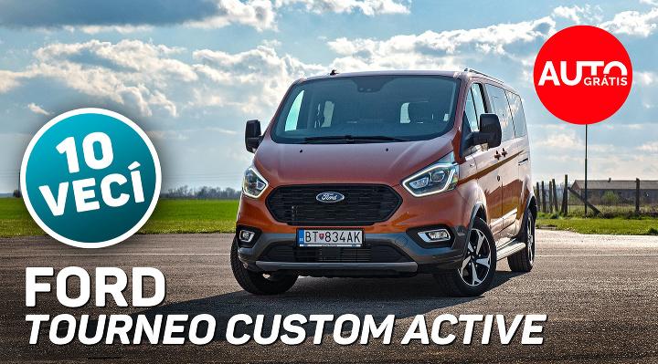 Ford Turneo Custom Active