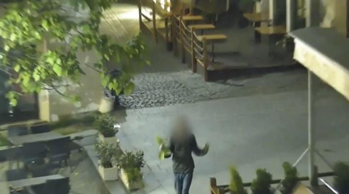 Kamery zachytili čudný výjav: