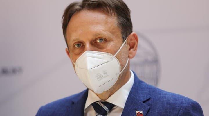 Minister Samuel Vlčan po