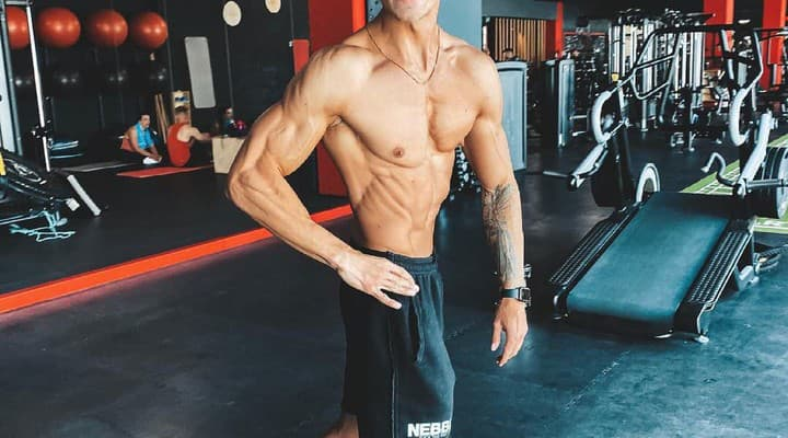 fitness trener tomas