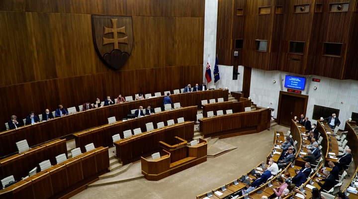 Hlasovanie poslancov o novele