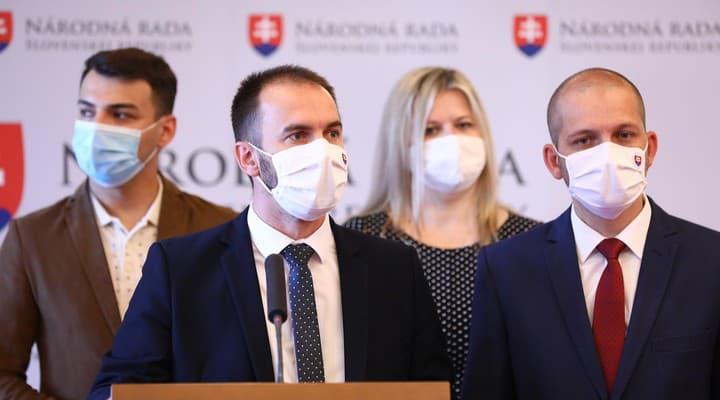 Tlačová konferencia strany OĽANO